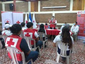 Presidente de CRN, Dr. Oscar Gutiérrez dando por inaugurado el Curso YABC
