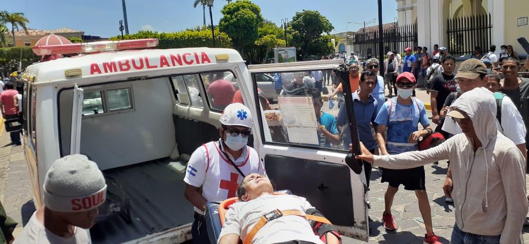 Accidente de tránsito ocurrido en la ciudad de Granada