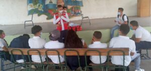 Formación de Brigadas Escolares en el Instituto Nacional Eddy Alonso de Sébaco
