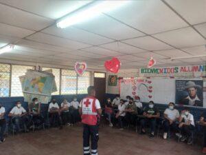 Formación de Brigadas Escolares en el Instituto Manuela Martínez del Municipio de Tisma
