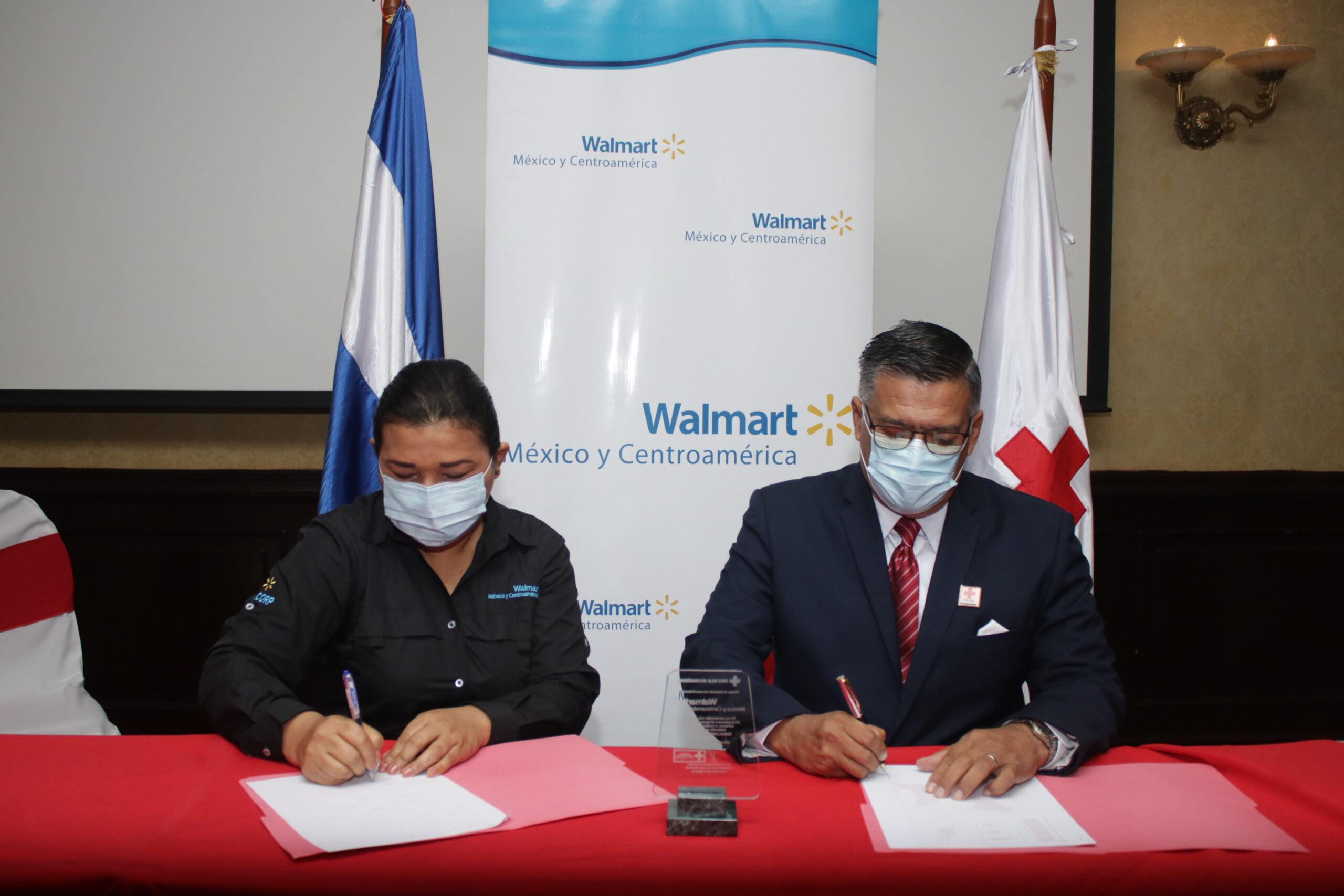 Firma de convenio de colaboración entre CRN y Walmart de México y Centroamérica